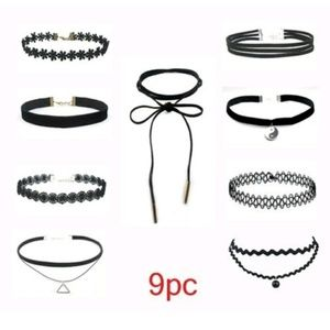 Jewelry - Brand new 9 Piece choker set